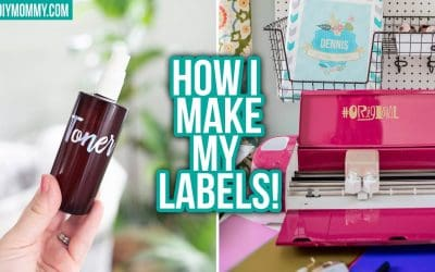 HOW TO MAKE LABELS with a CRICUT