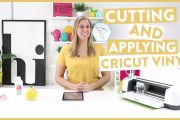 Cutting and Applying Cricut Vinyl