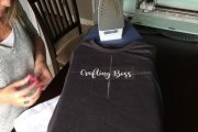 How to make an iron-on tshirt with Cricut and heat