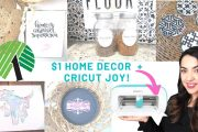 Cricut DOLLAR TREE Decor