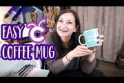 Easy DIY Coffee Mug with Cricut